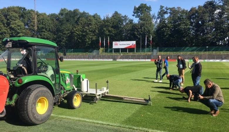 UV-C Fungus Treatment Unit Demo Day at FC Cologne
